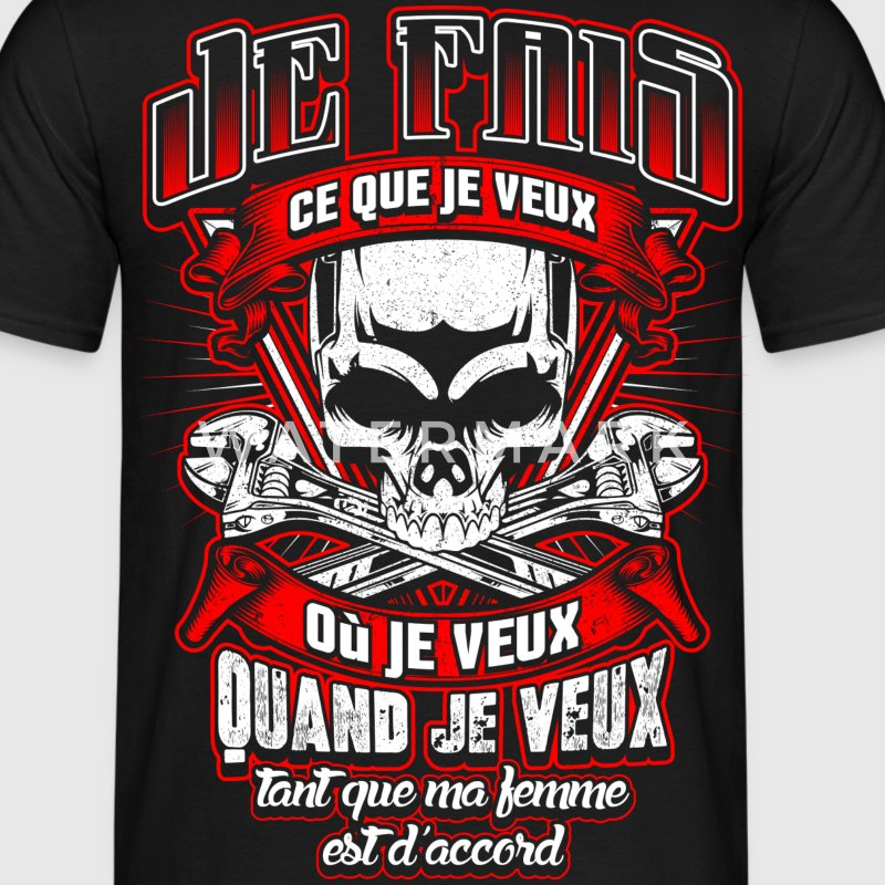 ...tant que ma femme est d'accord Tee shirts - T-shirt Homme