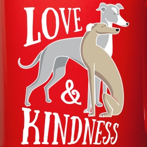 Love & kindness - white Tazze & Accessori - Tazza monocolore