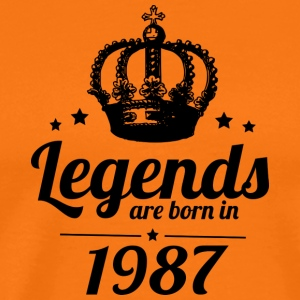 Legends 1987 - Männer Premium T-Shirt