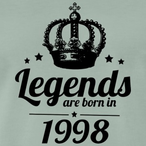 Legends 1998 - Männer Premium T-Shirt