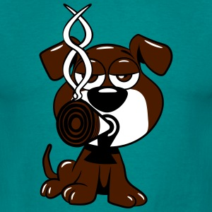 Dogs baby joint kiffen T-Shirts - Men's T-Shirt