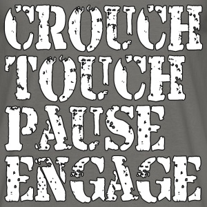 Rugby Crouch Pause T-Shirts - Men's T-Shirt