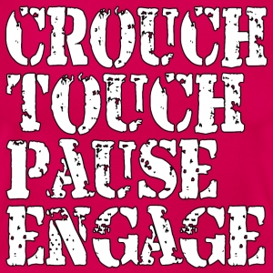 Rugby Crouch Pause T-Shirts - Women's T-Shirt