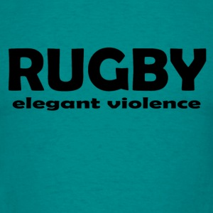 Rugby Violence - Men's T-Shirt