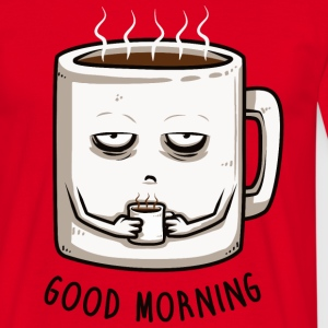 Red good morning T-Shirts - Men's T-Shirt