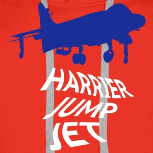 Harrier Jump Jet 2c Hoodies & Sweatshirts - Men's Premium Hoodie