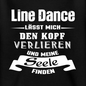 Line Dance - Seele T-Shirts - Teenager T-Shirt