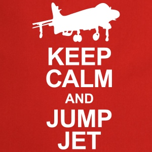 Keep Calm and Jump Jet  Aprons - Cooking Apron