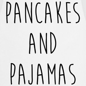 Pancakes And Pajamas  Funny Quote  Aprons - Cooking Apron