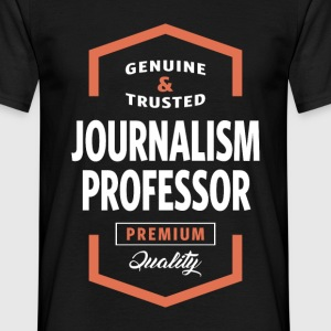 Journalism Professor Logo Tees - Men's T-Shirt
