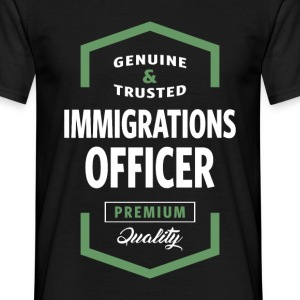 Immigrations Officer Logo Tees - Men's T-Shirt