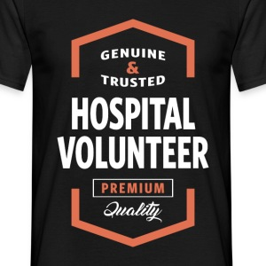 Hospital Volunteer Logo Tees - Men's T-Shirt