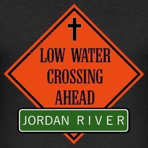 crossing jordan ahead en T-Shirts - Men's Slim Fit T-Shirt
