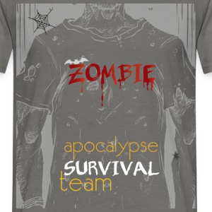 Zombie apocalypse survival team - Men's T-Shirt