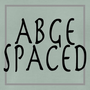 AGBE SPACED - Männer Premium T-Shirt