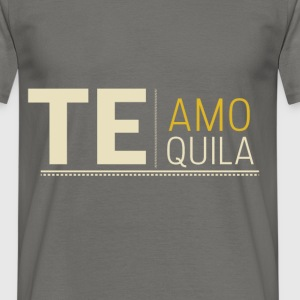 Teamo tequila - Men's T-Shirt