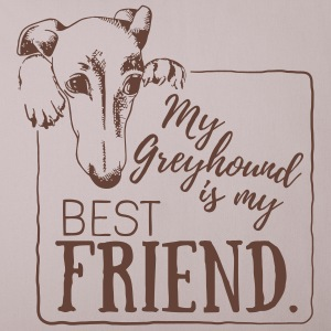 My Greyhound is my best friend Altro - Copricuscino per divano, 44 x 44 cm