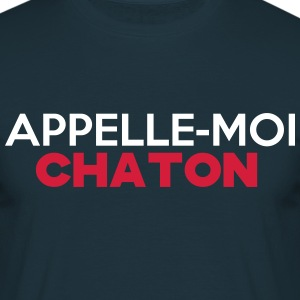 chaton(appelle moi) - T-shirt Homme