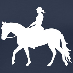 Easy Riding Lady - Frauen Premium T-Shirt