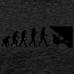 Evolution of klettern2 T-Shirts - Männer Premium T-Shirt