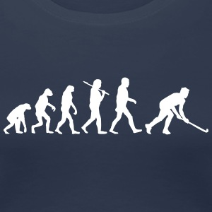 Evolution of feldhockey T-Shirts - Frauen Premium T-Shirt