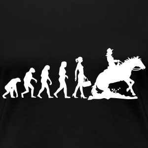 Evolution Ladies Western Riding - Frauen Premium T-Shirt