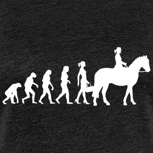 Evolution Ladies Riding - Frauen Premium T-Shirt