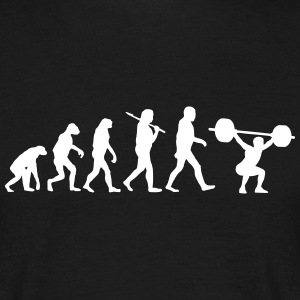 Evolution of bodybuilding T-Shirts - Männer T-Shirt
