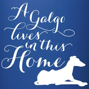 home galgo vector Tazze & Accessori - Tazza monocolore