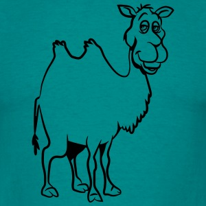Camel witty animal T-Shirts - Men's T-Shirt