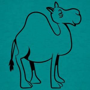 Camel witty cute goofy T-Shirts - Men's T-Shirt