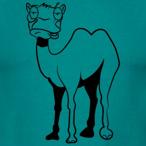 Camel funny tired T-Shirts - Men's T-Shirt