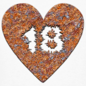 Rust-heart - 18 years T-Shirts - Men's Organic T-shirt
