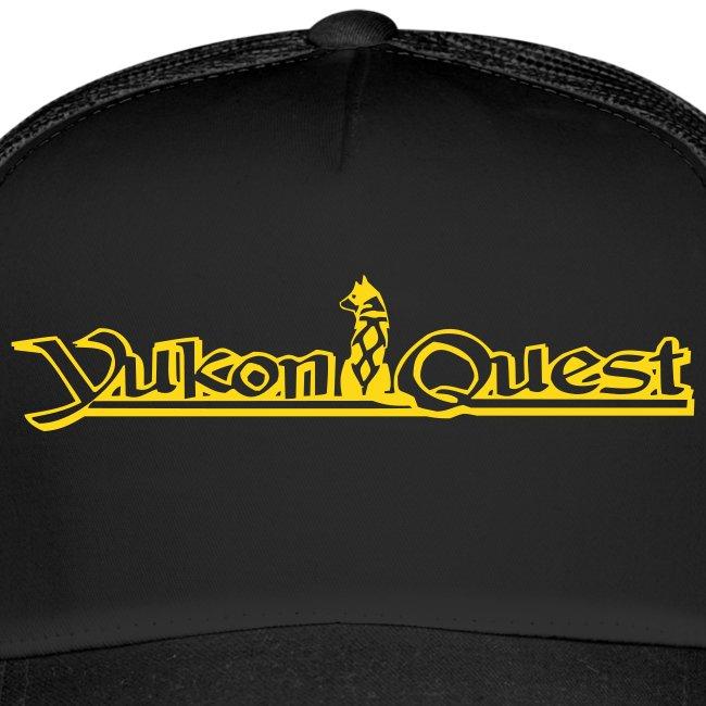 Yukon Quest Trucker Cap Gold