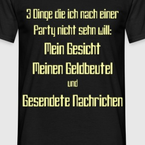 Party T-Shirts - Männer T-Shirt