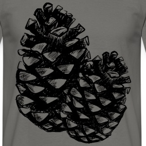 Two pine cones T-Shirts - Men's T-Shirt