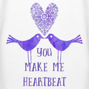 You make me heartbeat Pullover & Hoodies - Frauen Premium Hoodie