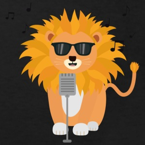 Cool music lion Shirts - Kids' Organic T-shirt