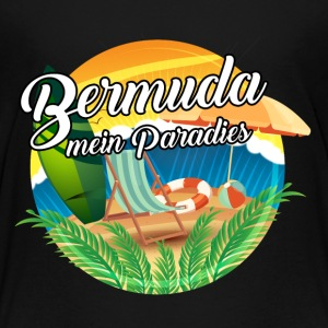 Bermuda - Mein Paradies T-Shirts - Teenager Premium T-Shirt