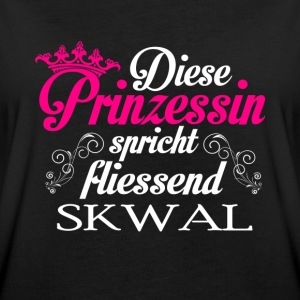 Skwal - Prinzessin T-Shirts - Frauen Oversize T-Shirt