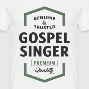 Gospel Singer Logo Tees - Men's T-Shirt