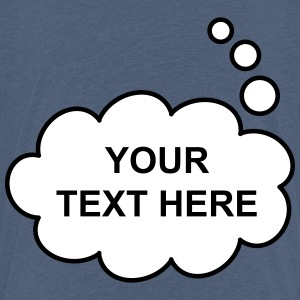 Text Balloon (thought 2 colours) Shirts - Kids' Premium T-Shirt