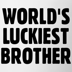 World's Luckiest Brother Mugs & Drinkware - Mug