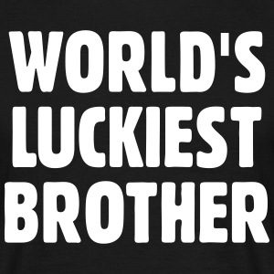 World's Luckiest Brother T-Shirts - Men's T-Shirt