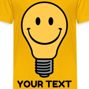 Oldschool lightbulb Shirts - Kids' Premium T-Shirt