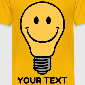 Oldschool lightbulb Shirts - Teenage Premium T-Shirt