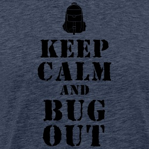 Fluchtrucksack / Bug-Out-Bag Prepper T-Shirt - Männer Premium T-Shirt