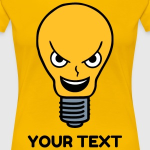 Evil Lightbulb T-Shirts - Women's Premium T-Shirt
