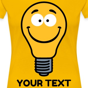 Wacky Lightbulb T-Shirts - Women's Premium T-Shirt