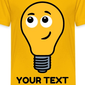 Shy Lightbulb Shirts - Teenage Premium T-Shirt